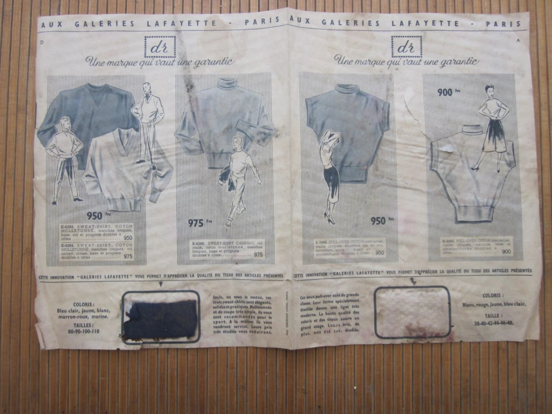 1900 publicité réclame aux