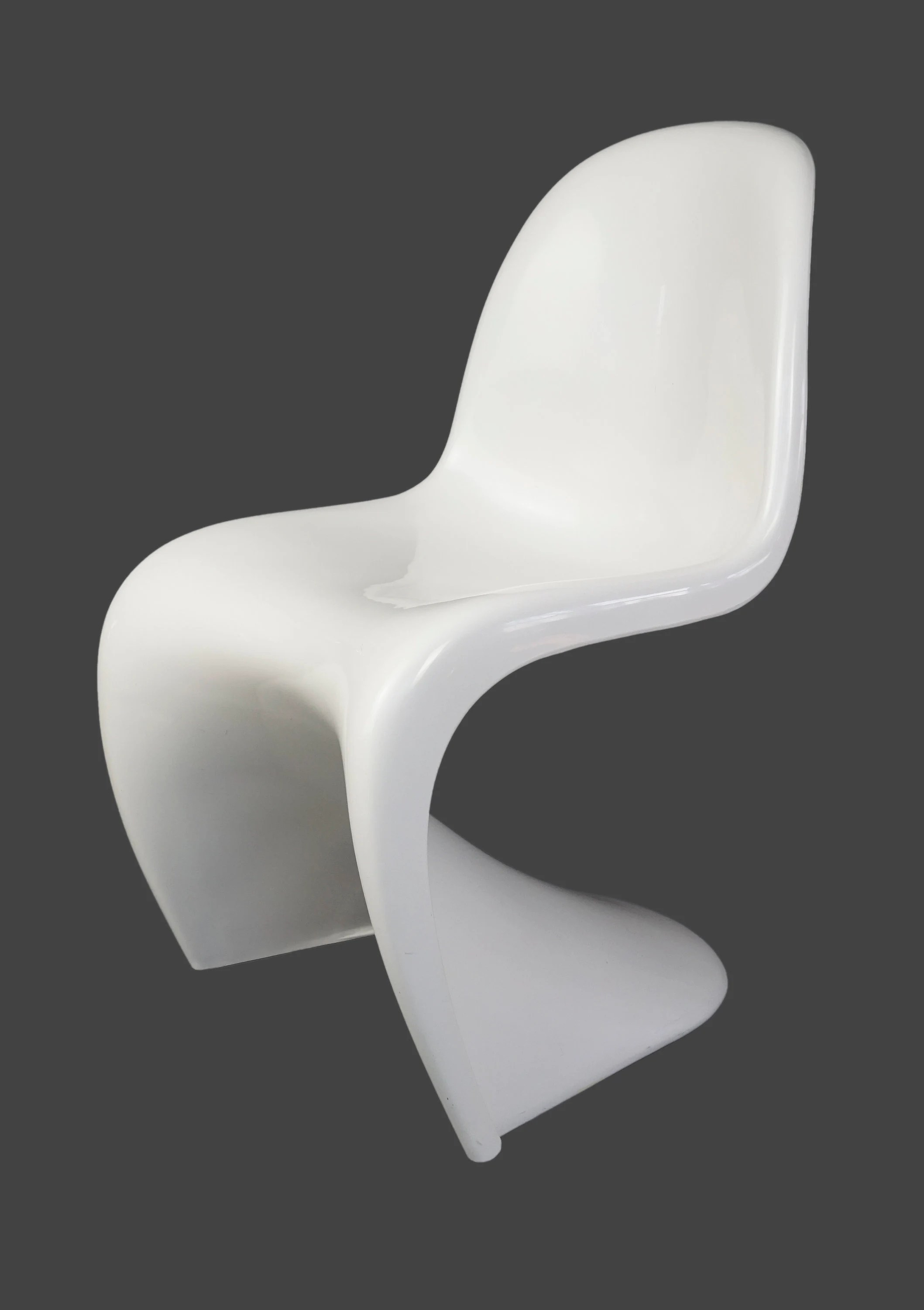 S Shaped Chair Herman Miller Panton Chair S Shaped White Color Designer Genuine Verner Panton Mid Century Modern