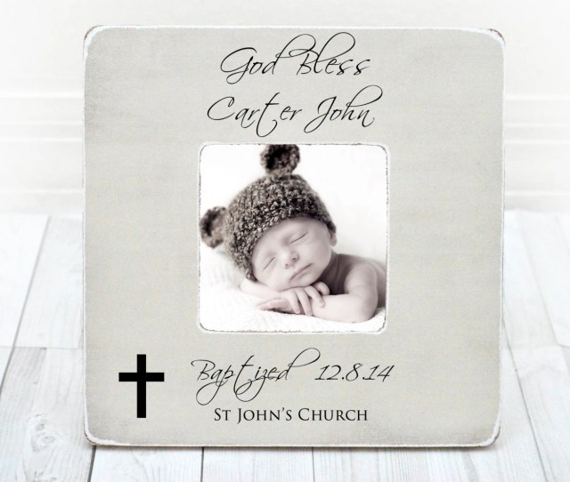 Baptism Gift Boy Personalized Baptism Gift Christening Gifts For Boys Personalized Frame Baptism Gift From Godmother Godfather God Bless