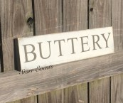 rustic kitchen signs