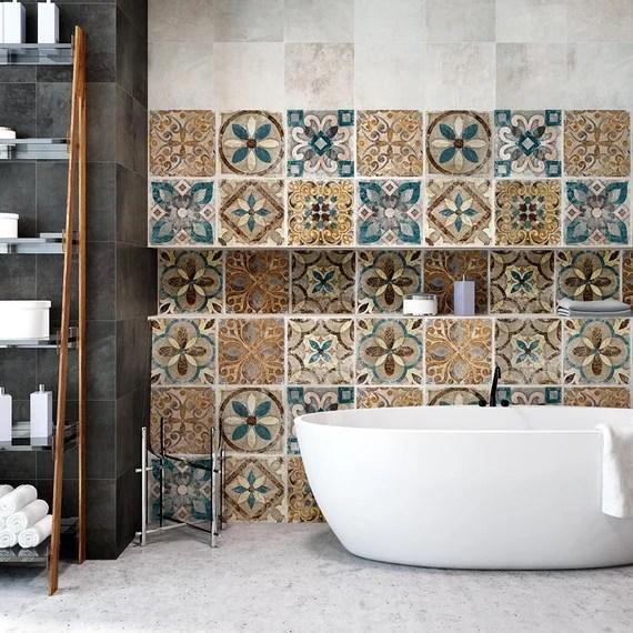 Ps00202 Tel Aviv Pvc Tiles For Bathroom Tiles And Etsy
