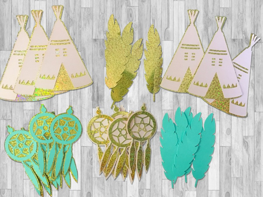 Party Pack of Die Cuts fo...
