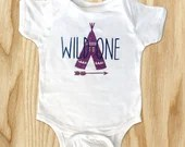 Wild One Girls Tops - Wild One Onsies - Wild One Mommy and Daughter Tops