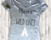Mama to Wild Ones - Mama bear t shirts - Shirts for mommy