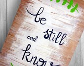 Be Still and Know - Hand ...