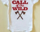Call of The Wild - Wild One Onsie - Camping onsies