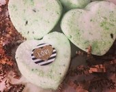 Lavender Infused - Green Color Tab Bath Bombs - Bath Fizzies - Kids Bath - Stocking Stuffers - Relaxing Spa Bombs