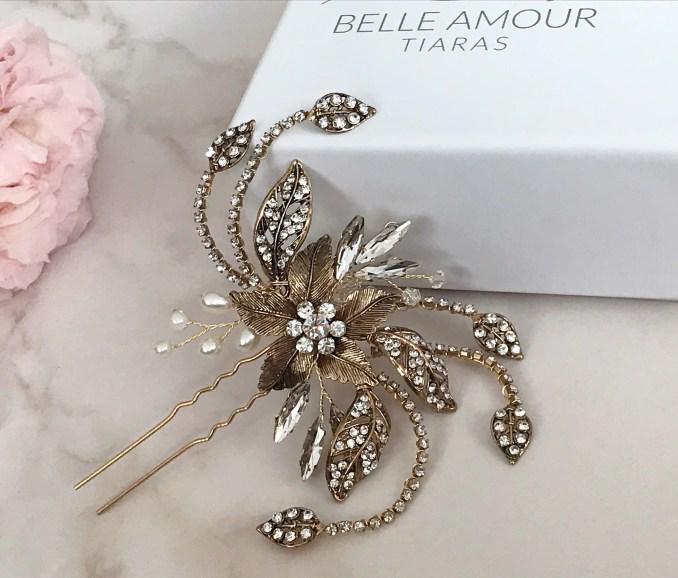 antique gold hair pin, sale wedding hair accessories, brides hair piece, vintage inspired, brides headpiece , bridal hair accessories