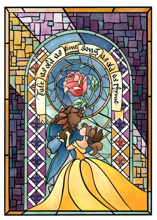 Tale As Old As Time Beauty and the Beast Print cadeaux de noel comédie musicale