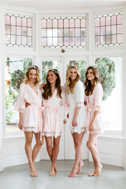 Lace Bridal Robe // Bridesmaid Robes // Robe // Bridal Robe // image 7