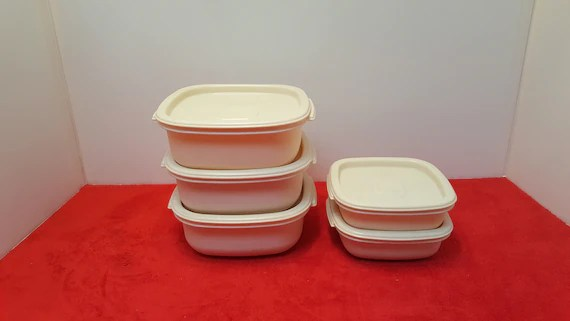 rubbermaid kitchen storage containers cabinets design vintage food etsy image 0