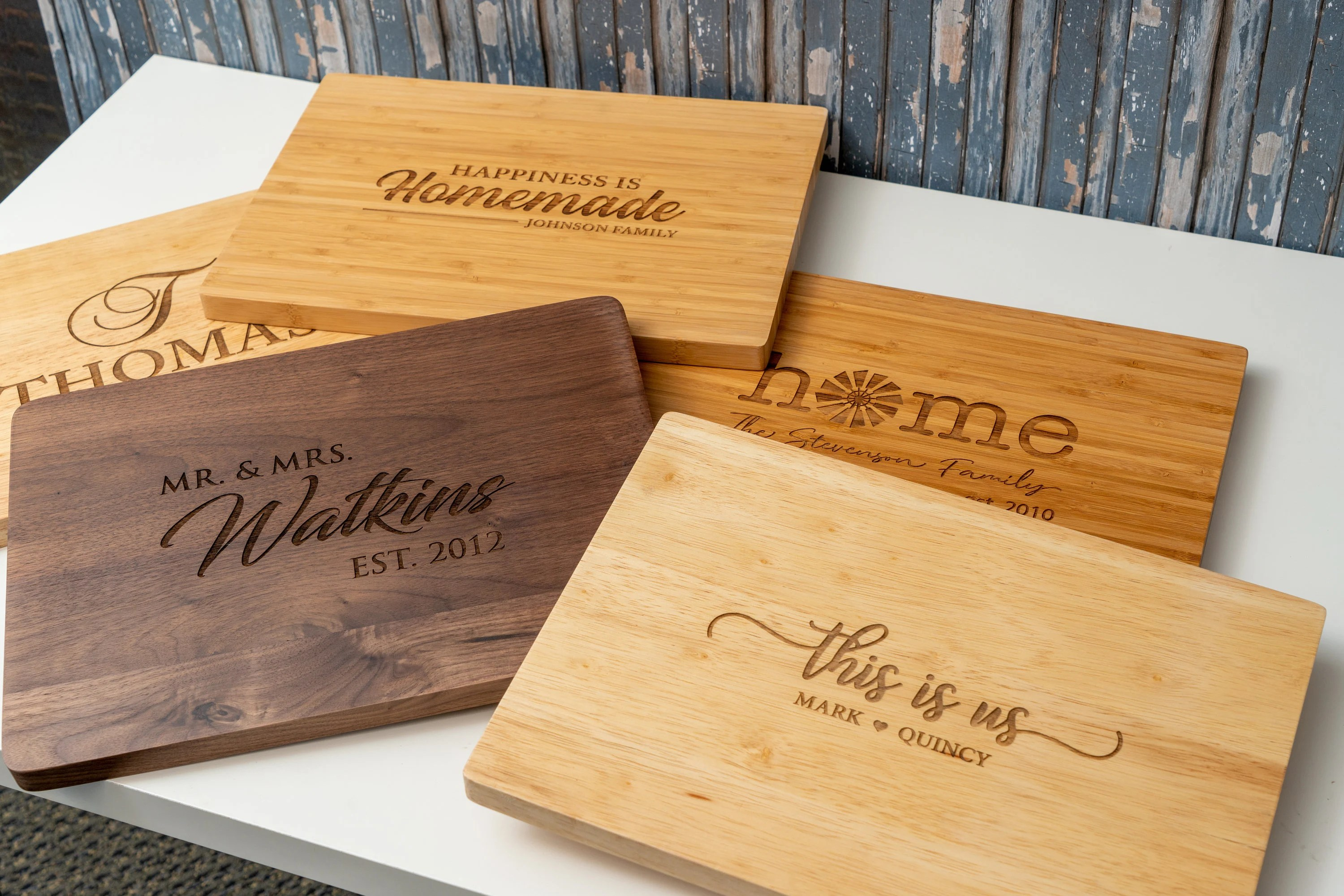 Personalized Cutting Board Engraved Cutting Board Kitchen image 1