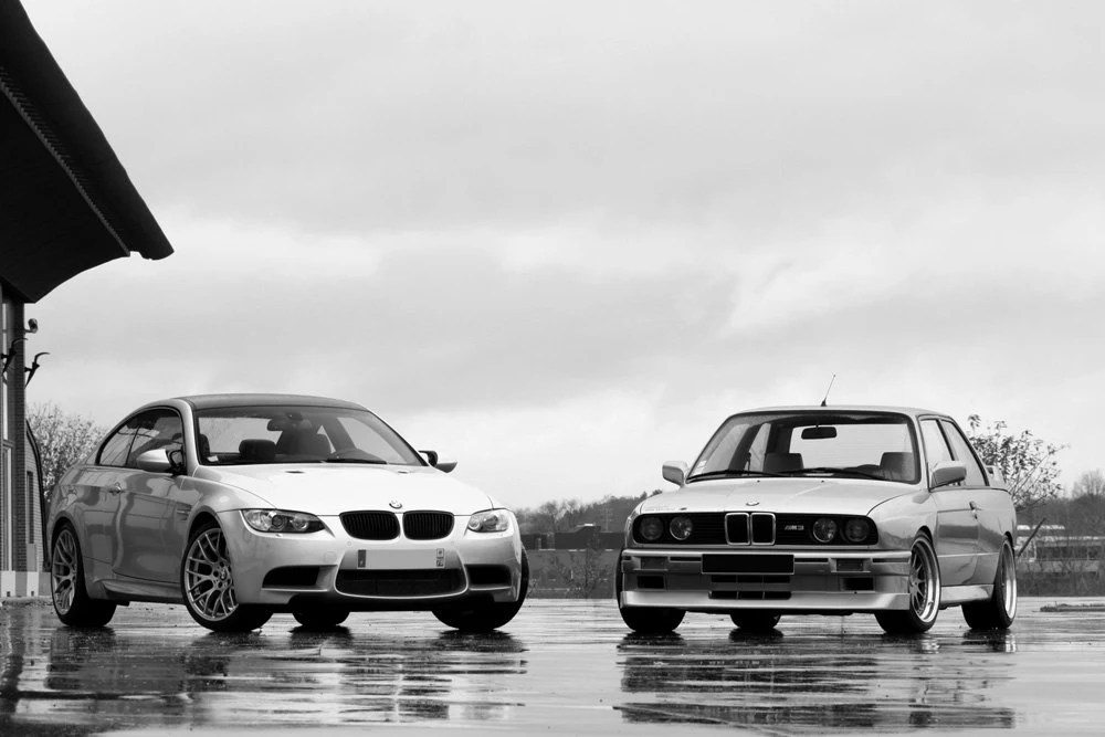 poster of bmw e92