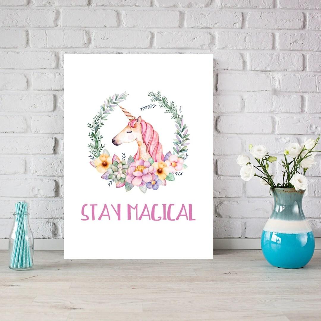 PRINTABLE.Stay Magical. G...