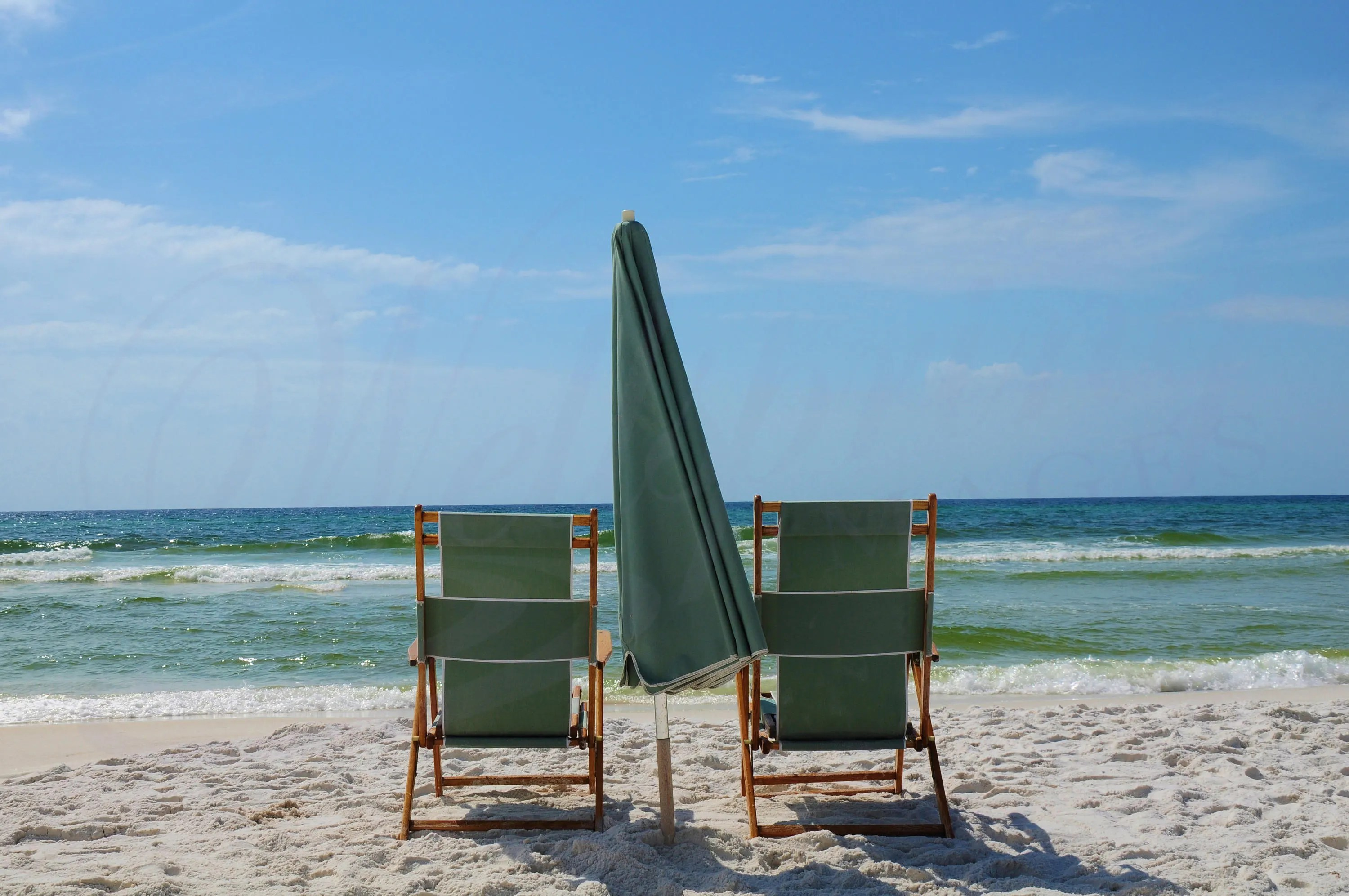 Beach Chairs With Umbrella Beach Chairs Photography Florida Beach Chairs And Umbrella Wall Art Destin Sandy Beach Chairs Photo