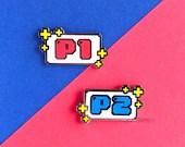 Player Select Enamel Pin Set