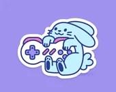 Game Bun Weatherproof Sticker