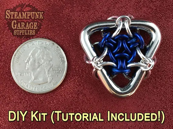 X1 Kit Hex Capacitor Pendant Tutorial Included With Every Kit Flux Capacitor Aluminum Or Steel