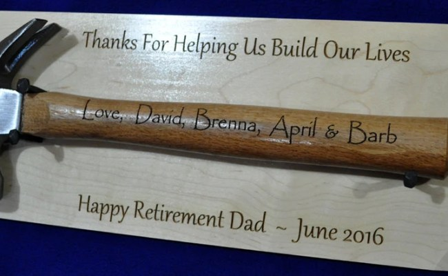 Retirement Gift For Dad Personalized Retirement Gift Etsy