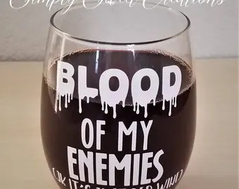 Image result for the blood of my enemies