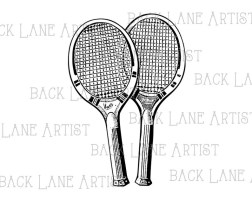 Ausmalbilder Tennisschläger