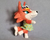 Wolf Anthro Jointed Plush (Made to Order)