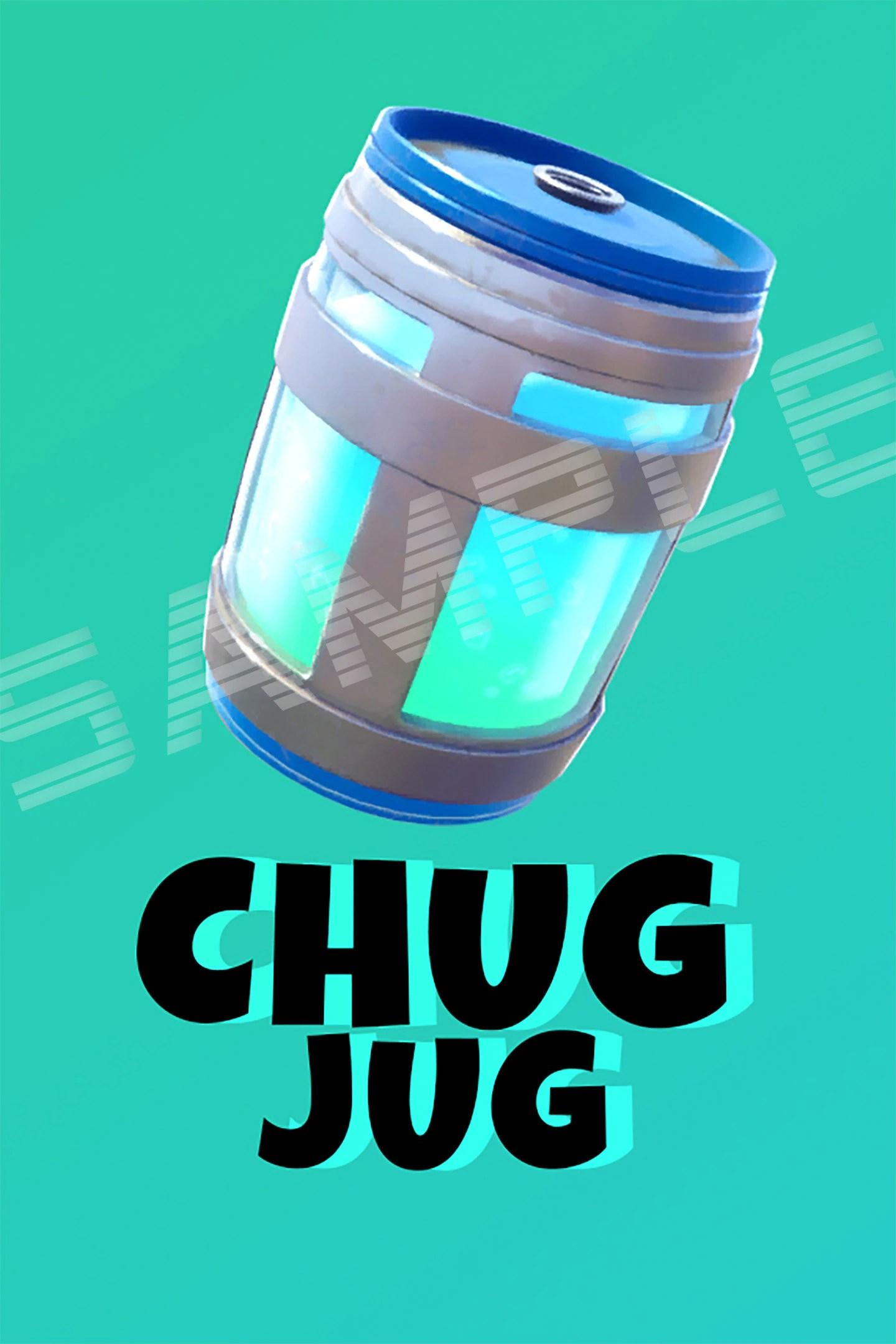 image regarding Chug Jug Printable known as Chug Jug Fortnite -