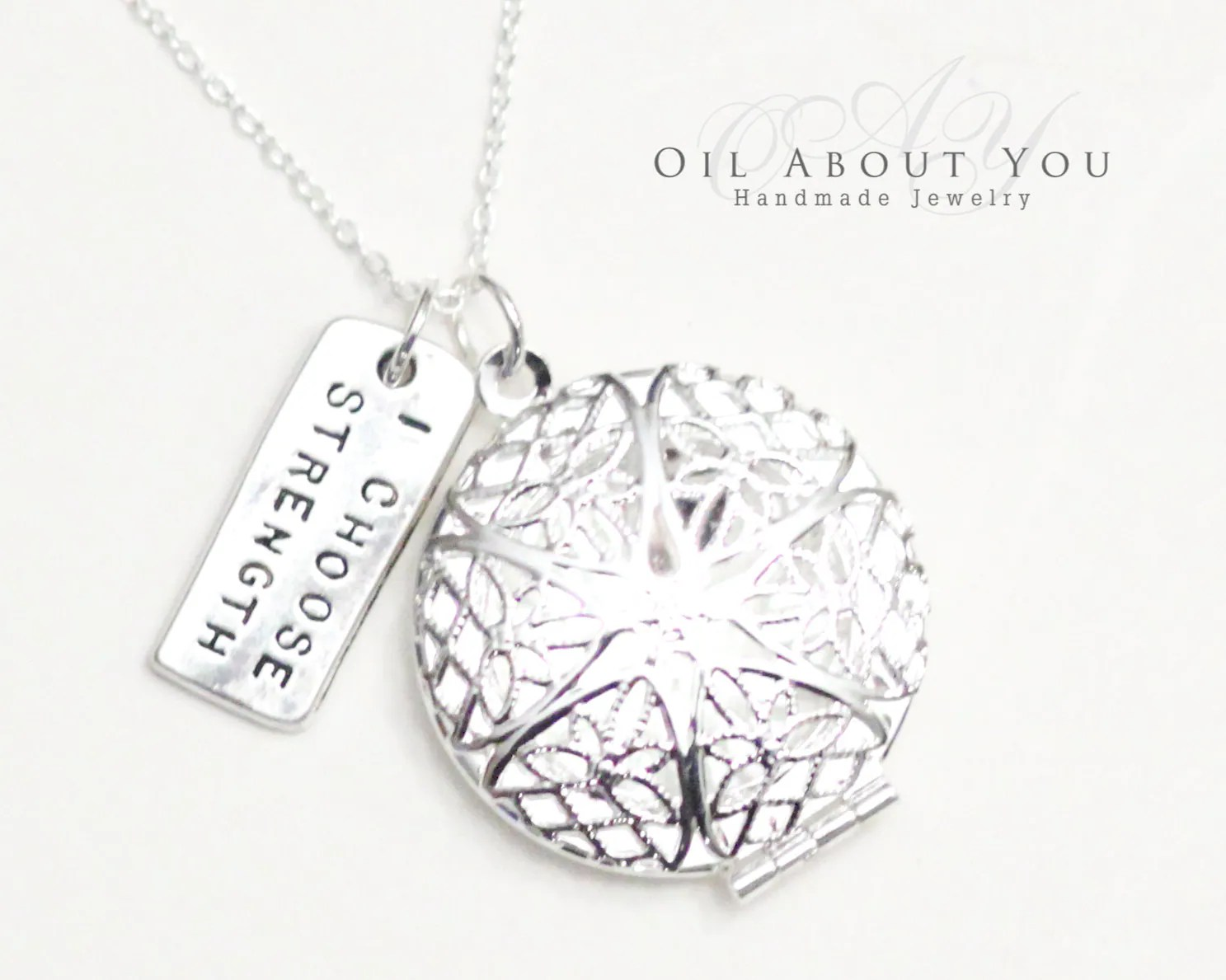 Essential Oil Diffuser Necklace Diffuser Necklace