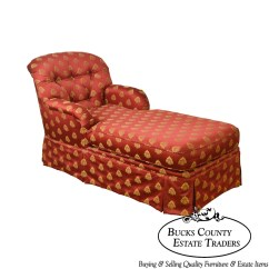 Red Chaise Lounge Chair Arthrex Beach Etsy Custom Gold Tufted Upholstered