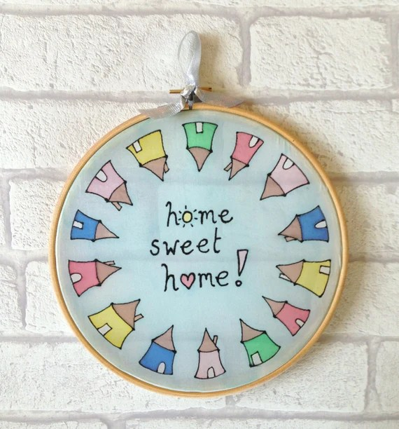Home Sweet Home Sun Catcher New Home Presents Home Sweet Etsy
