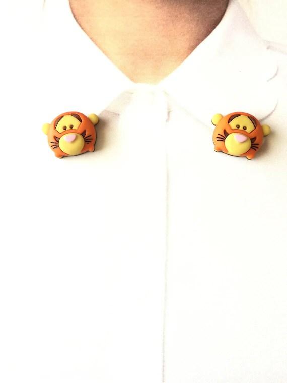 Collar Tsum : collar, Tigger, Collar, Clips, Sweater, Guards