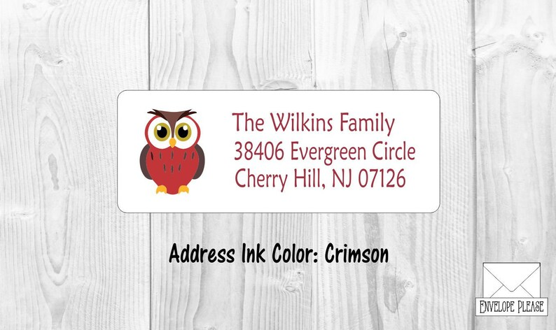 woodland owl return address