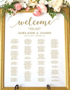 Image also gold wedding seating chart template etsy rh