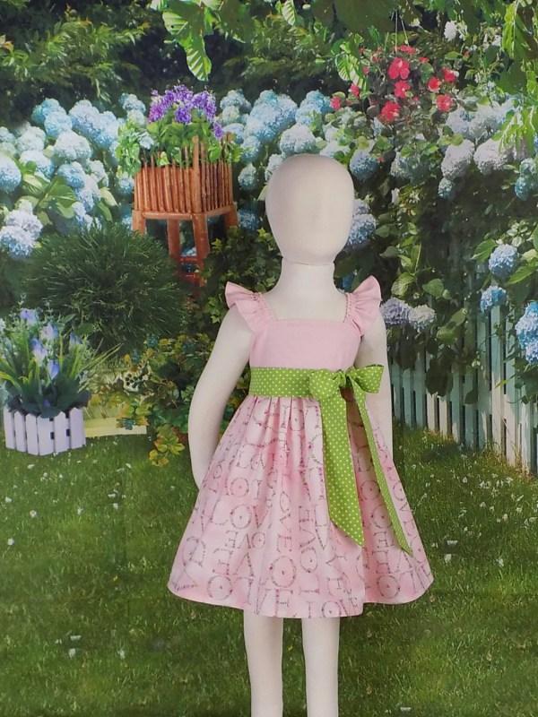 Pink Easter Dress Spring Valentines Day Toddler