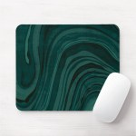Storm Teal Mouse Pad Mousepad Deep Dark Blue Green Marble Marbled Swirl Abstract Modern Minimal Print Pattern