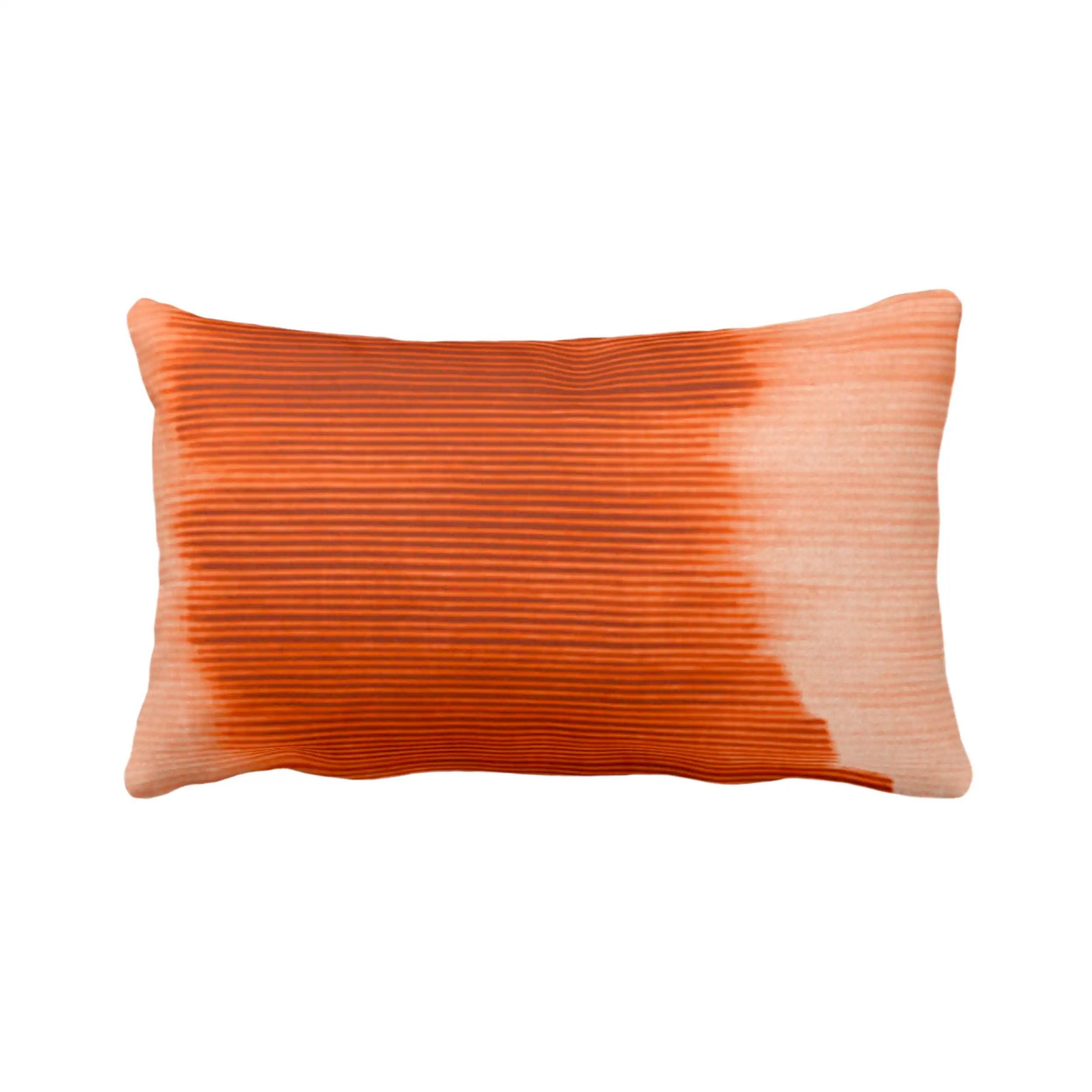 outdoor copper ombre stripe throw