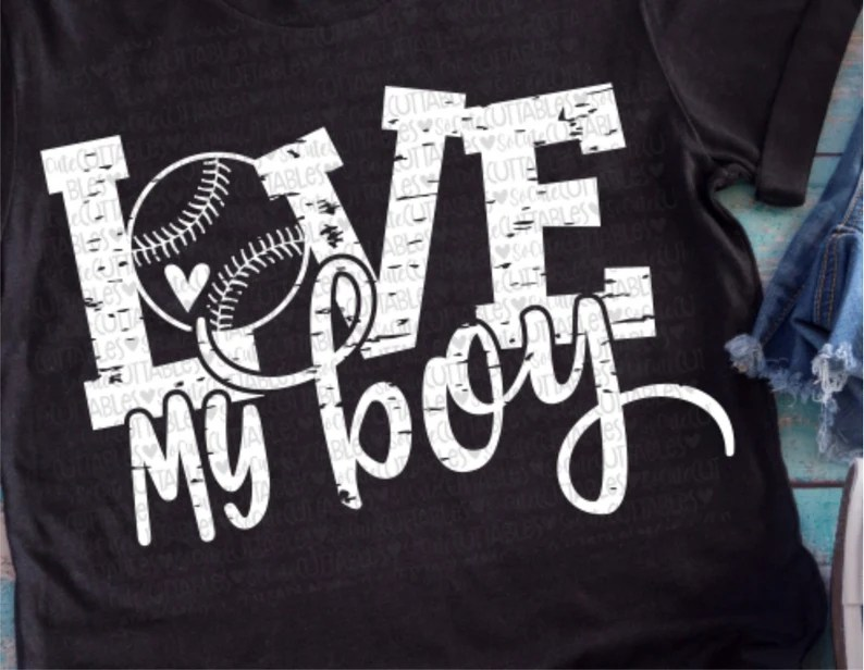 Download Baseball svg baseball mom Love my boy svg baseball cutfile ...