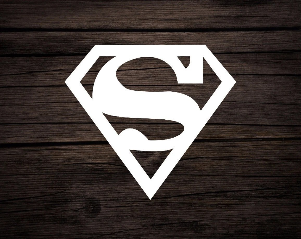 superman stickers etsy