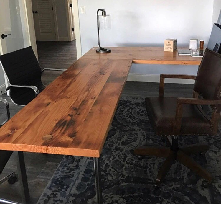 Long Piece Of Wood For Desk