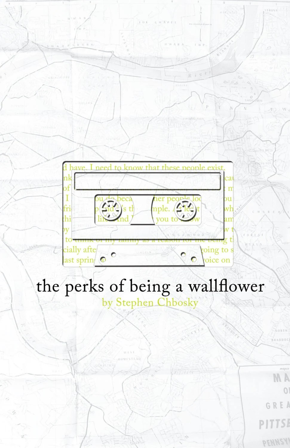 Items similar to Perks of Being a Wallflower Poster Print
