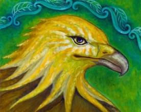 One winged eagle | Etsy