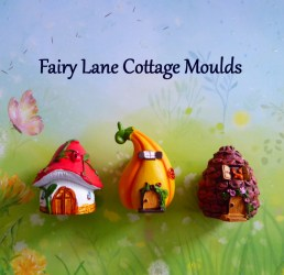 Silicone Mold DIY Crafts Chocolate Candy Cake Tool Cupcake Topper Decorations Fondant Polymer Clay Fairy House Acorn Mushroom by MoldCreationsNmore Catch My Party