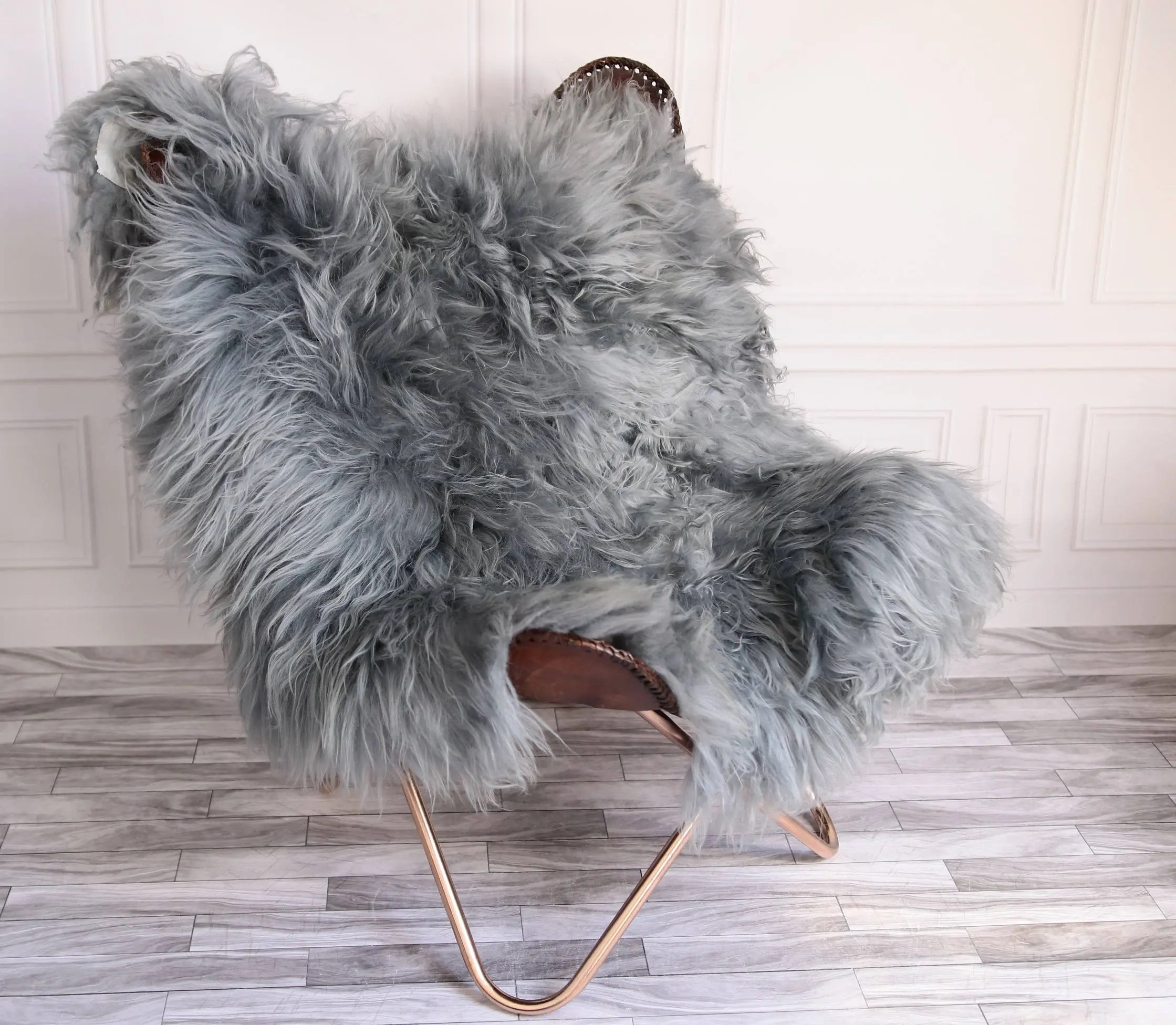 Sheepskin Chair Covers Double Icelandic Sheepskin Rug Square Rug Shaggy Rug Chair