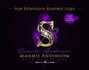 hair extensions logo bundle