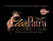 hair bundles logo extensions