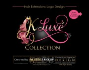 hair extensions logo strands
