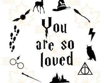 Download Harry potter love svg | Etsy