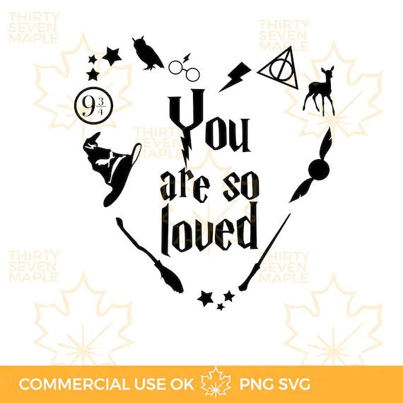 Download You are So Loved SVG PNG   Etsy