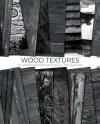 Black Wood Digital Paper Natural Wood Rustic Textures Etsy