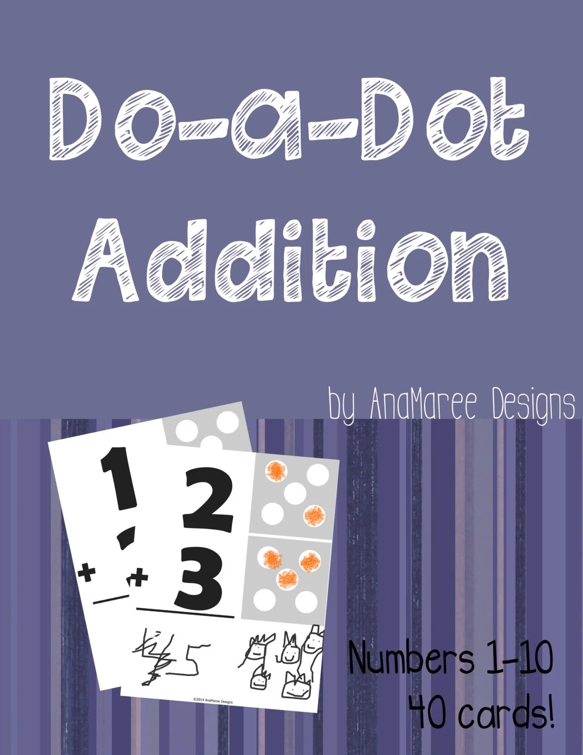 Homeschool Printable Do A Dot Addition Math Worksheets